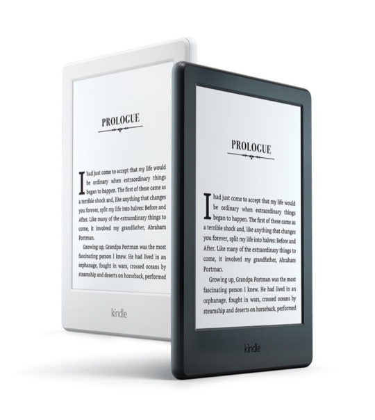 Basic Kindle 2016 - White and Black version