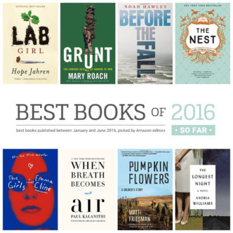 Best books of 2016 so far