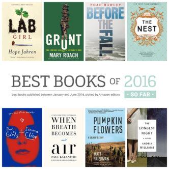 Best books of 2016 so far