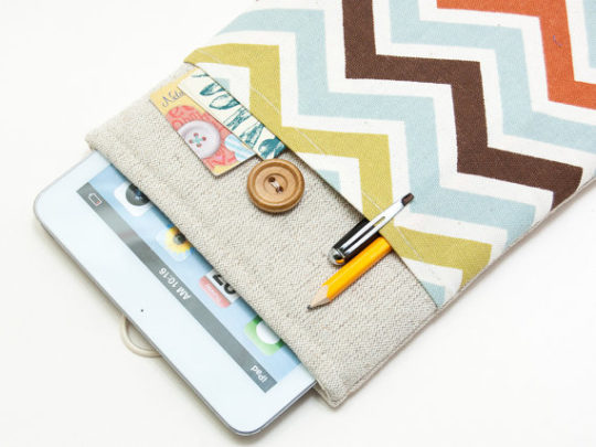 Gifts for Kobo users - handmade Kobo sleeve