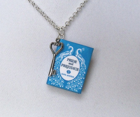 Gifts for Kobo users - miniature book jewelry