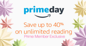 Kindle Unlimited offer for Amazon Prime members - you can save up to 40%
