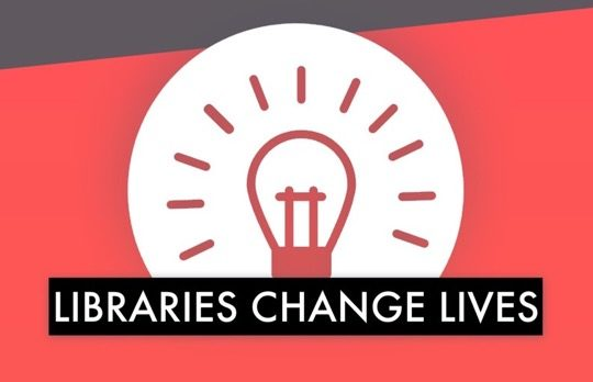 #Libraries change lives
