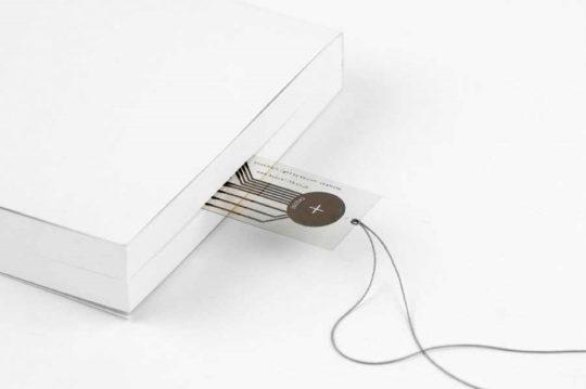 Bookmark Light - minimalist bookmark and reading light