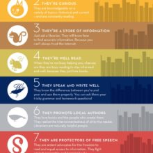 Top reasons we love librarians #infographic