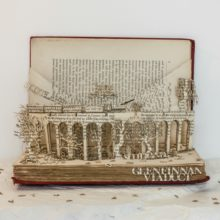 Book sculptures by Thomas Wightman - Visit Scotland 2