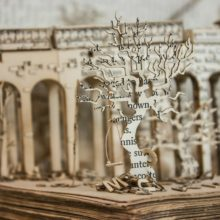 Book sculptures by Thomas Wightman - Visit Scotland 3