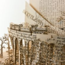 Book sculptures by Thomas Wightman - Visit Scotland 4