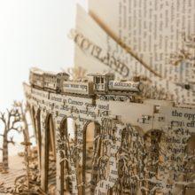 Book sculptures by Thomas Wightman - Visit Scotland 4