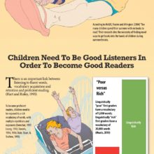 How to combat the summer slide with audiobooks #infographic
