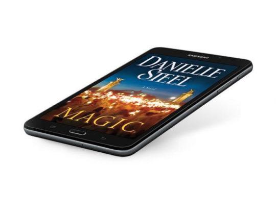 Samsung Galaxy Tab A Nook 7 - angle view