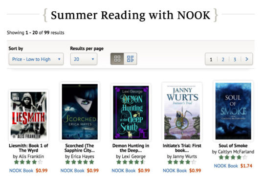 Summer Nook ebook sale