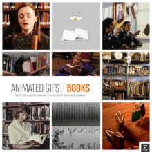 20 animated gifs book geeks will love to share