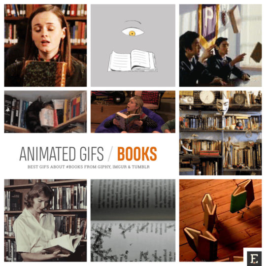 The best animated gifs about #books