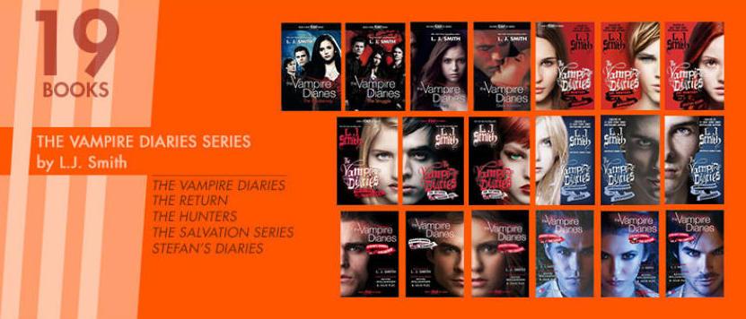 The longest running YA series - The Vampire Diaries Series