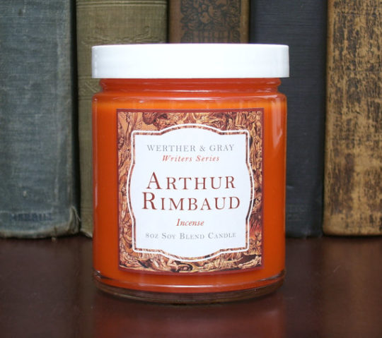Werther and Gray - Arthur Rimbaud scented candle