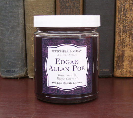 Werther and Gray - Edgar Allan Poe scented candle
