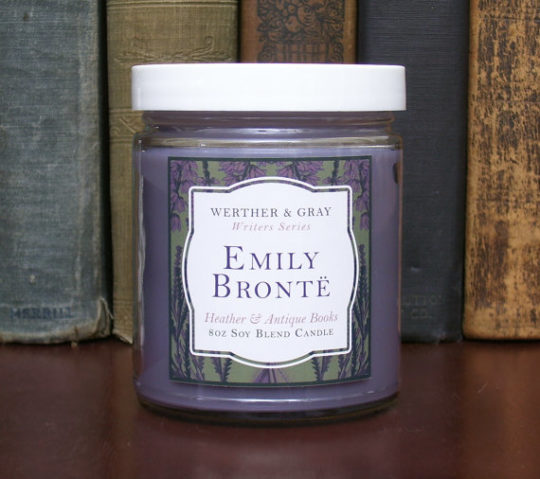 Werther and Gray - Emily Bronte scented candle