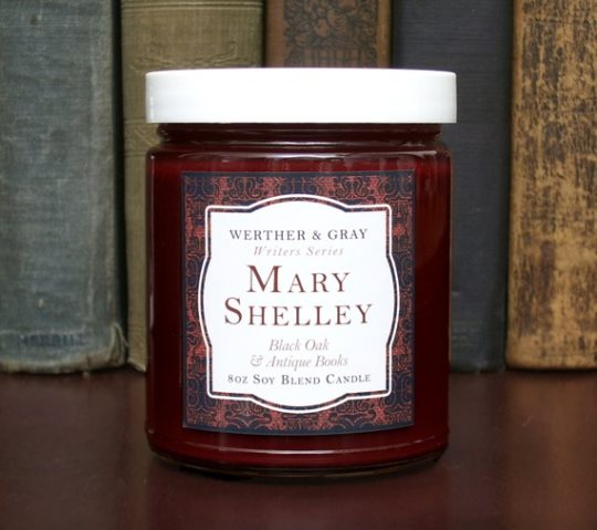Werther and Gray - Mary Shelley scented candle