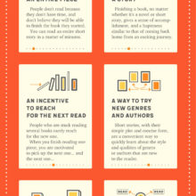 6 benefits of reading short stories #infographic