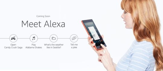 Amazon Fire HD 8 (2016) comes with Alexa