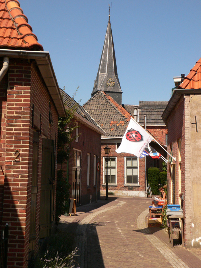 Book towns: Bredevoort - one of the bookshops