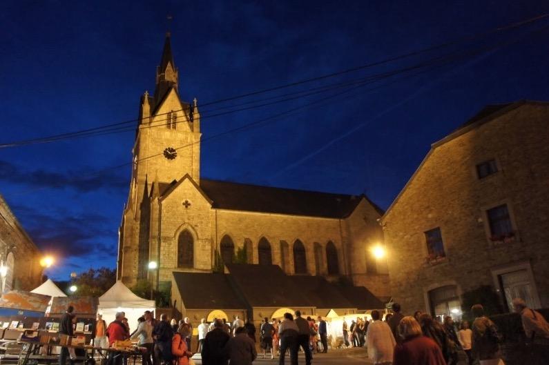 Book towns: Redu - during a book festival