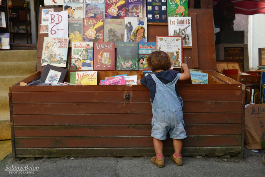 Book towns: Saint-Pierre-de-Clages - attractions for kids during book festival