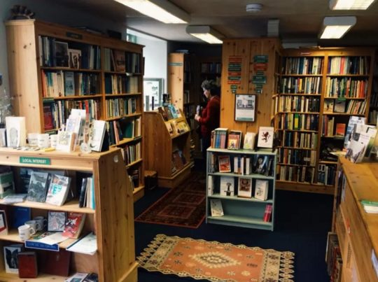 Book towns: Wigtown - The Open Book bookshop and apartment