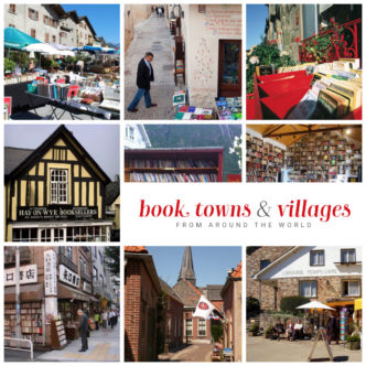 Book towns and villages from around the world