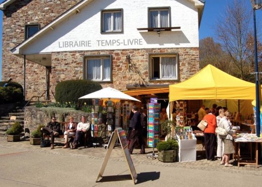Book villages: Redu - Temps-Livre bookshop