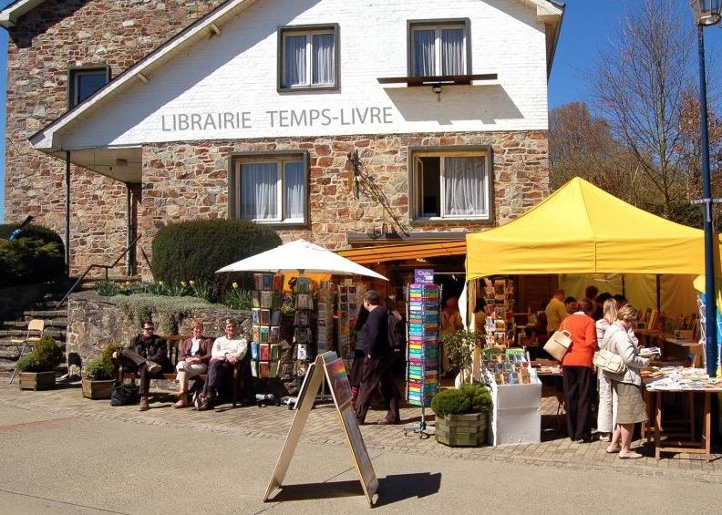 Book villages: Redu - Temps-Livre bookshop