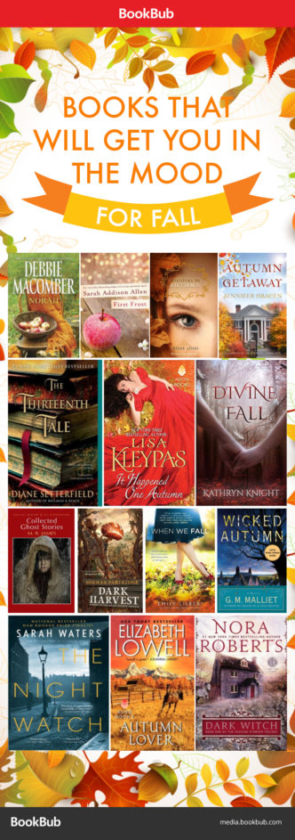 Books to get you in the mood for fall #infographic