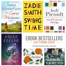 Ebook bestsellers of autumn 2016