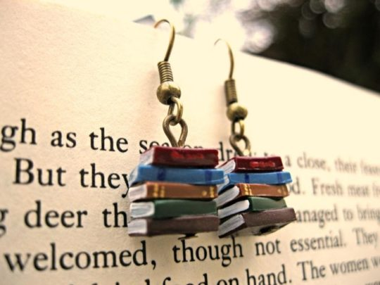 Gifts for Nook owners - miniature book charms