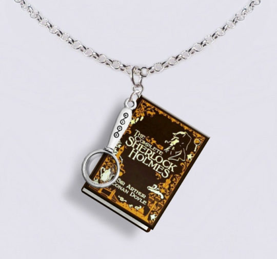 Gifts for Nook owners - miniature book jewelry