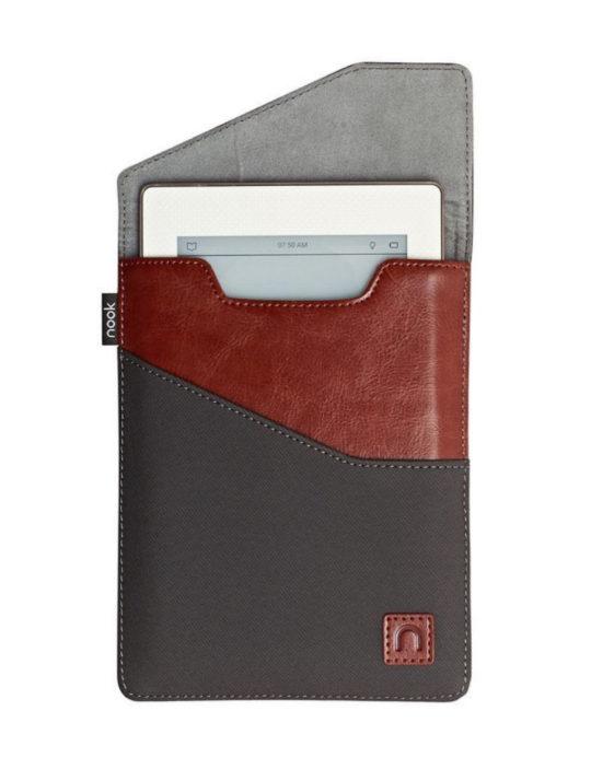 Nook Glowlight Plus Sleeve in Brown/Grey