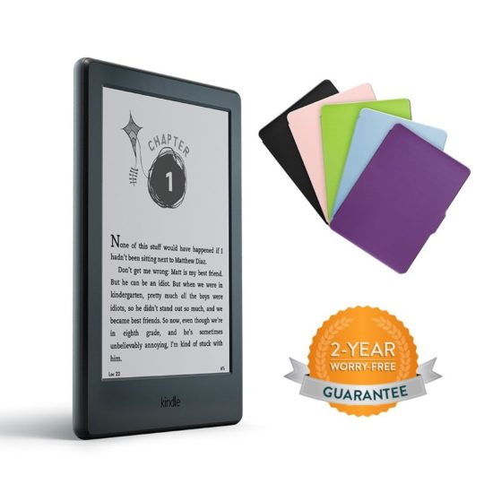 Kindle for Kids Bundle 2016 comes with a new cover and 2-year guarantee