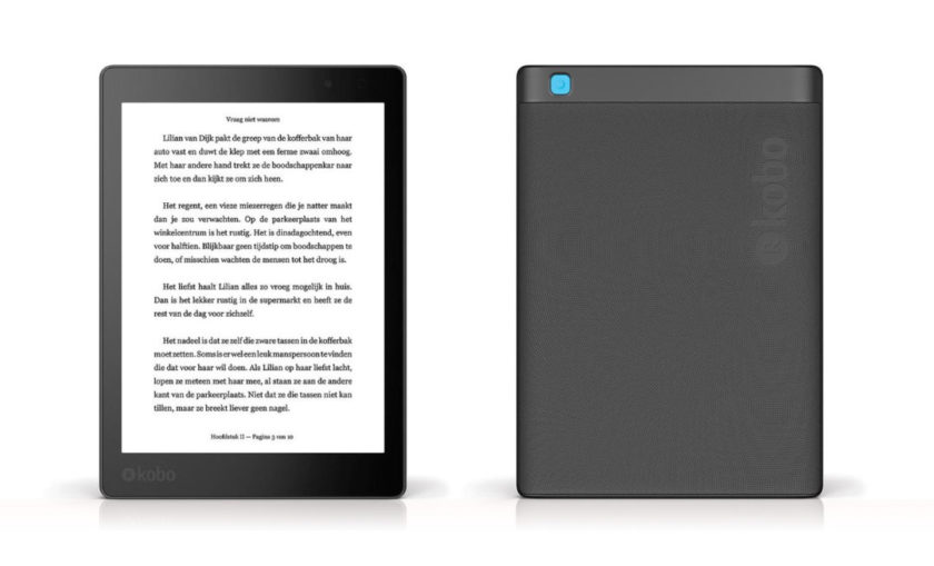 Kobo Aura One 2016 - front and back