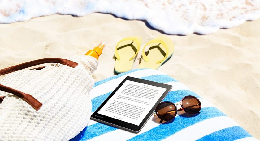 Kobo Aura One 2016 is waterproof up to 2 meters of water