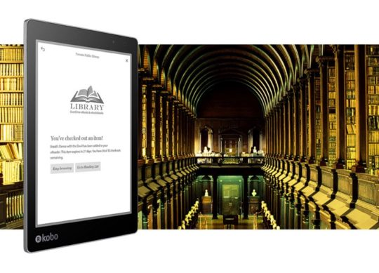 Kobo Aura One 2016 supports library ebooks via OverDrive platform