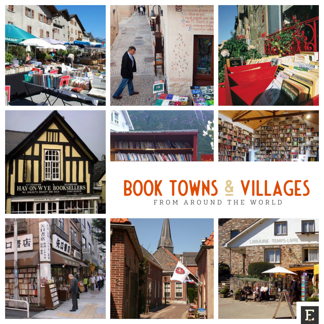 Prettiest book towns and villages from around the world