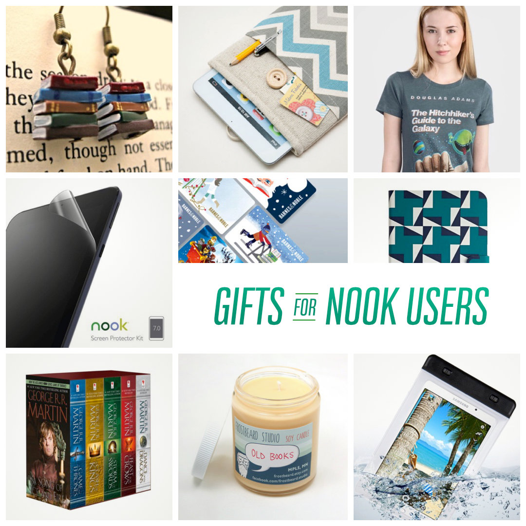 The best gift ideas for Nook owners