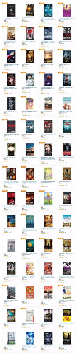 Amazon Prime Reading eligible books
