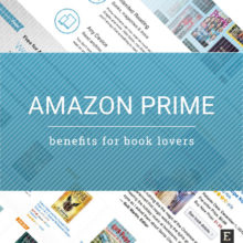 Amazon Prime benefits for book lovers