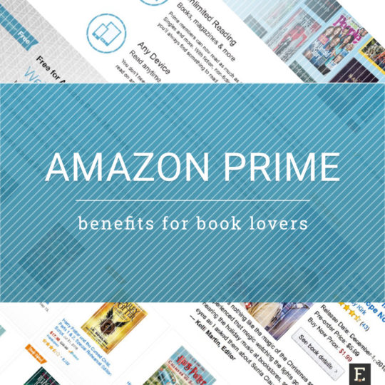 5 Amazon Prime benefits for users who love books