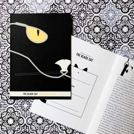 Obvious State: short stories on greeting cards - The Black Cat by Edgar Allan Poe
