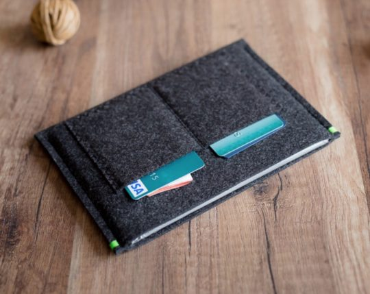 Phocket Dark Felt Kobo Sleeve
