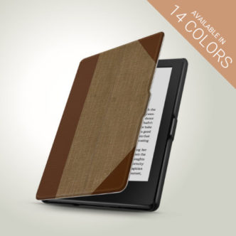 Vintage Book Smart Cover for Kindle 8th generation 2016