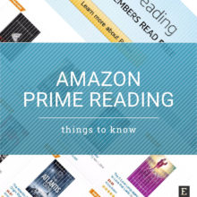Amazon Prime Reading – most important things to know